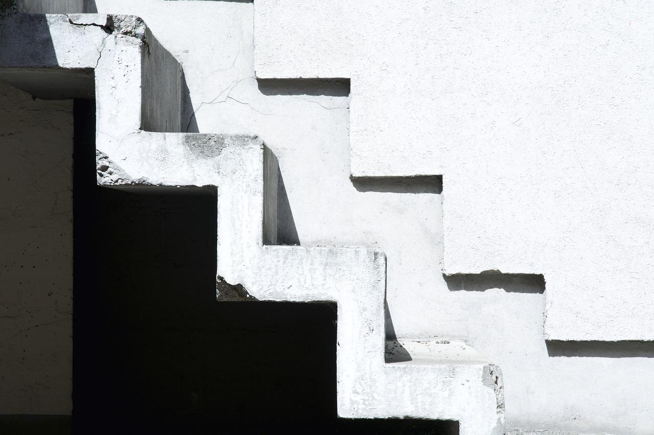 Zabiegowe schody w domu