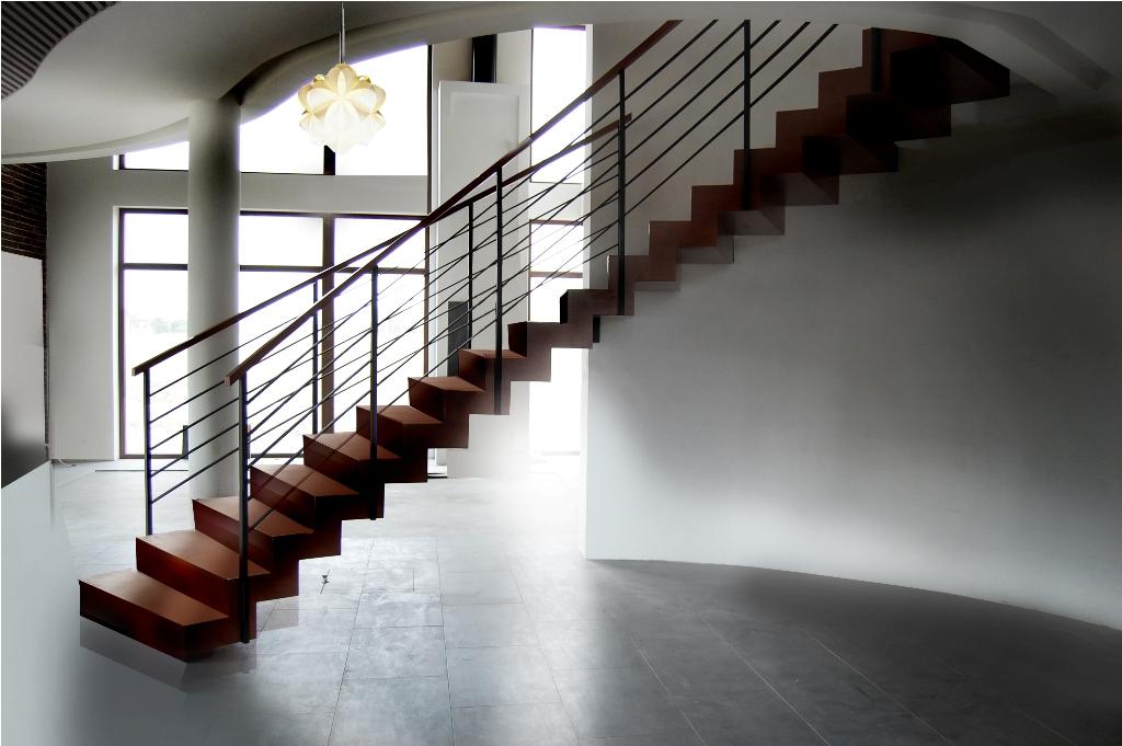 Ciekawie zaprojektowane schody zyskują na popularności