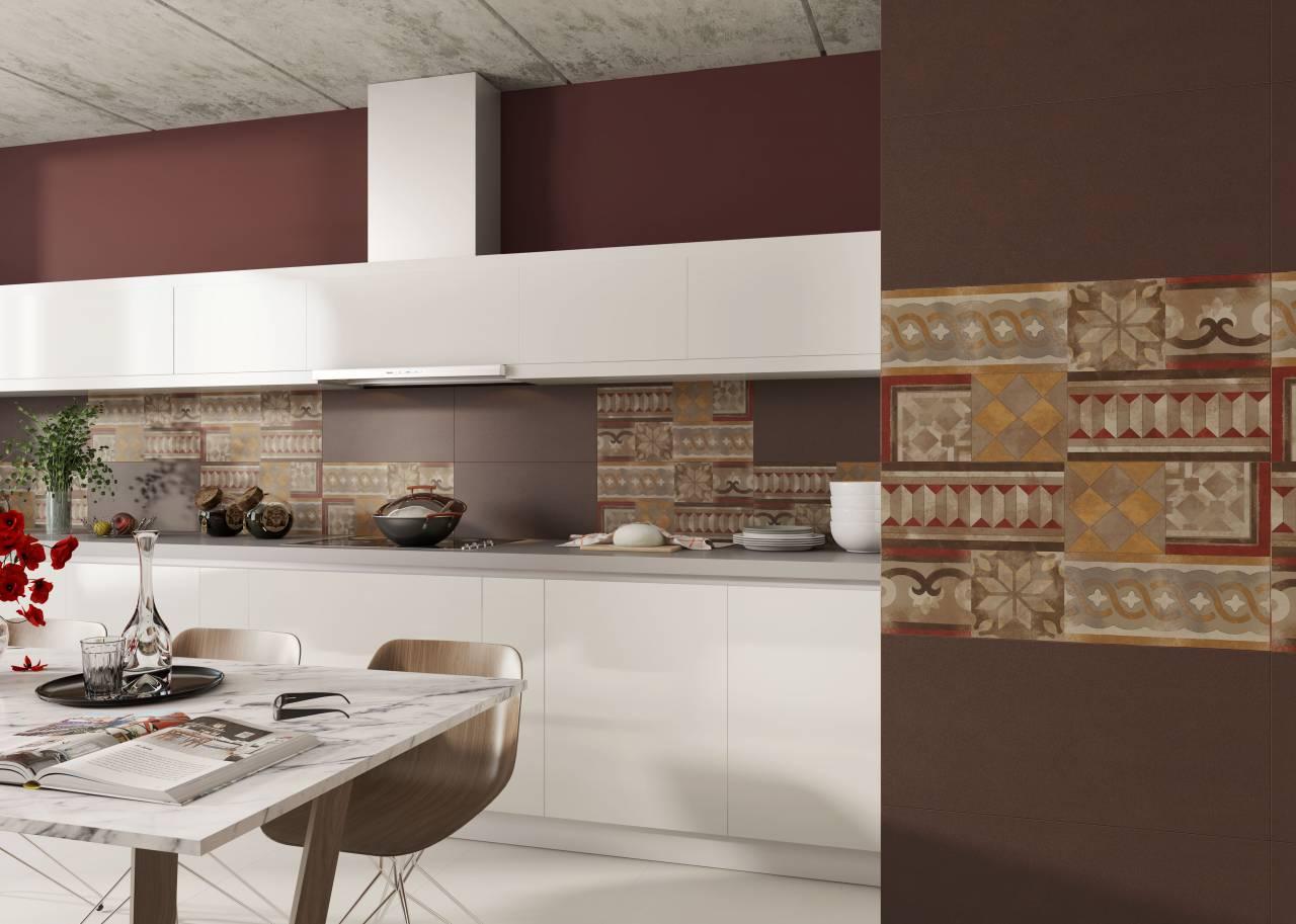 Nowoczesne płytki na ściany do kuchni