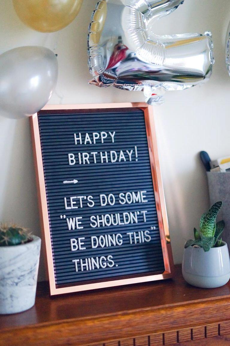 Wyjątkowe przyjęcie urodzinowe